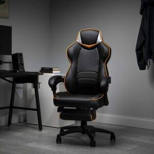 Fortnite Gaming chair with Inbuilt footrest