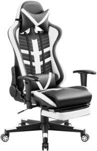 best footrest gaming chair