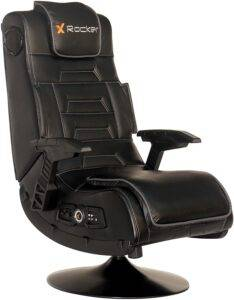 X Rocker Pro 2.1 gaming chair with speakers and vibration