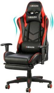 best Ergonomic Gaming chair with Footrest