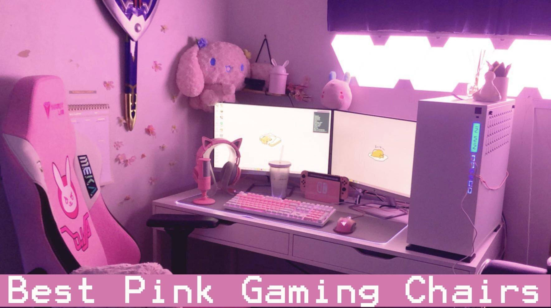 pink gaming chair reviews