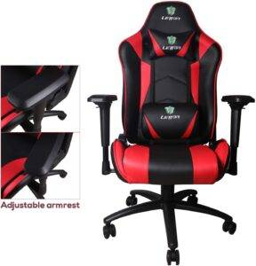 best red gaming chair