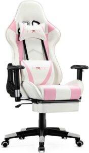 ficmax pink gaming chair