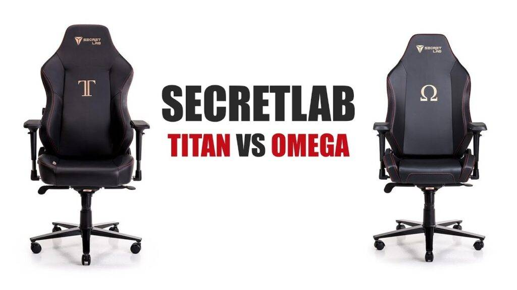 best comparison omega titan gaming chair