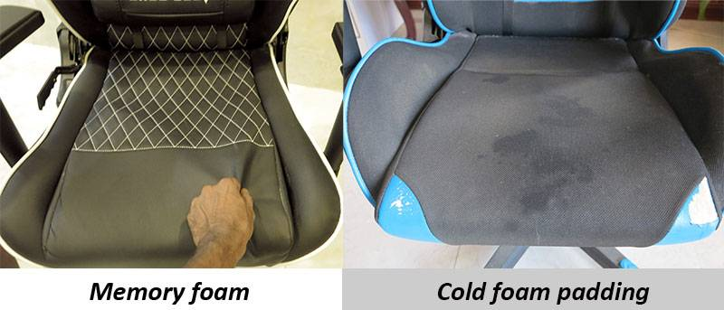 Cold Cure Foam is best for gaming chair